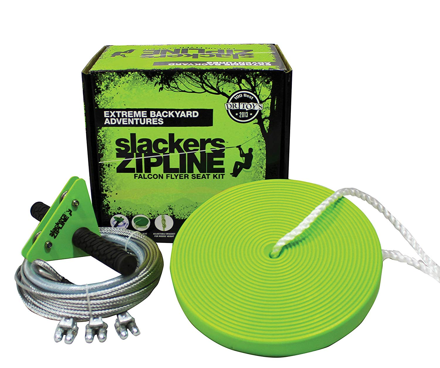 SLACKERS 40' ZIPLINE FALCON SERIES